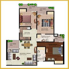AR Reflections floor plan 1