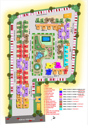 High End Group Raj Nagar Extension Layout Plan