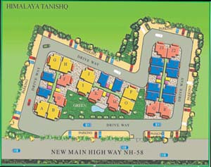 Himalaya Tanishq Raj Nagar Extension Site Map